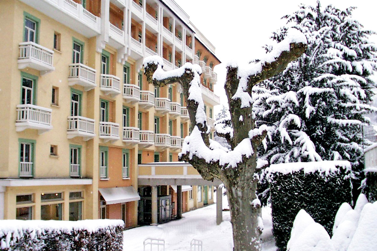 Grand Hotel des Thermes (Brides-les-Bains) - Built in 1870 & completely renovated in 2015