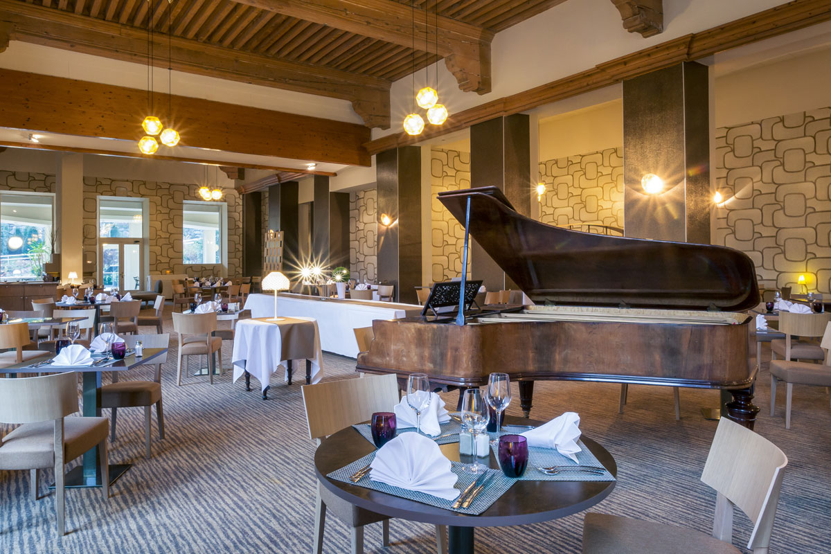 Grand Hotel des Thermes piano