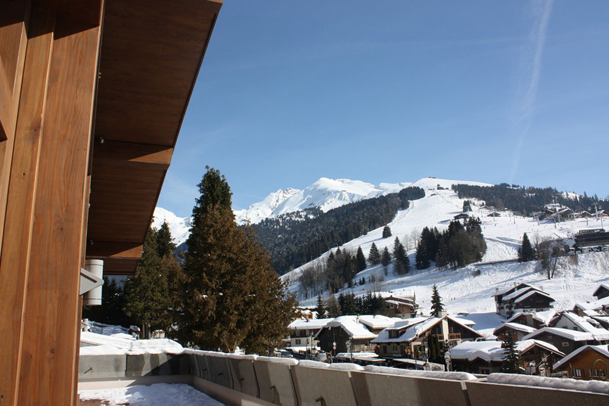 Grandes Alpes, La Clusaz (self catered apartments) - View from apartments