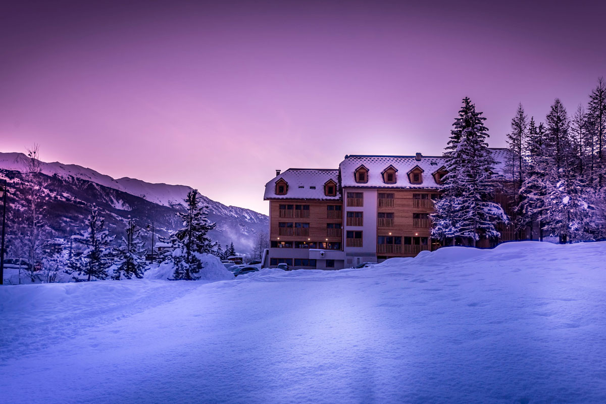 Grand Aigle (Serre Chevalier) - Easy access to the vast skiing area of Serre Chevalier