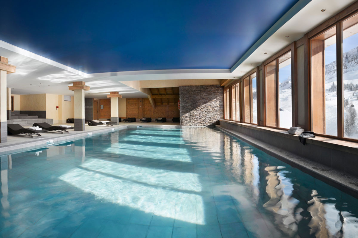Le Village de Lessy, Le Grand Bornand (self catered apartments) - Indoor Pool