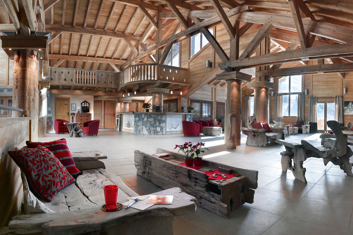 Le VilLe Village de Lessy, Le Grand Bornand (self catered apartments) - Reception & Residence Lounge