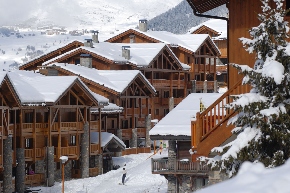 Les Fermes de Sainte Foy, Sainte Foy (self catered apartments) - Perfectly located at the foot of the slopes