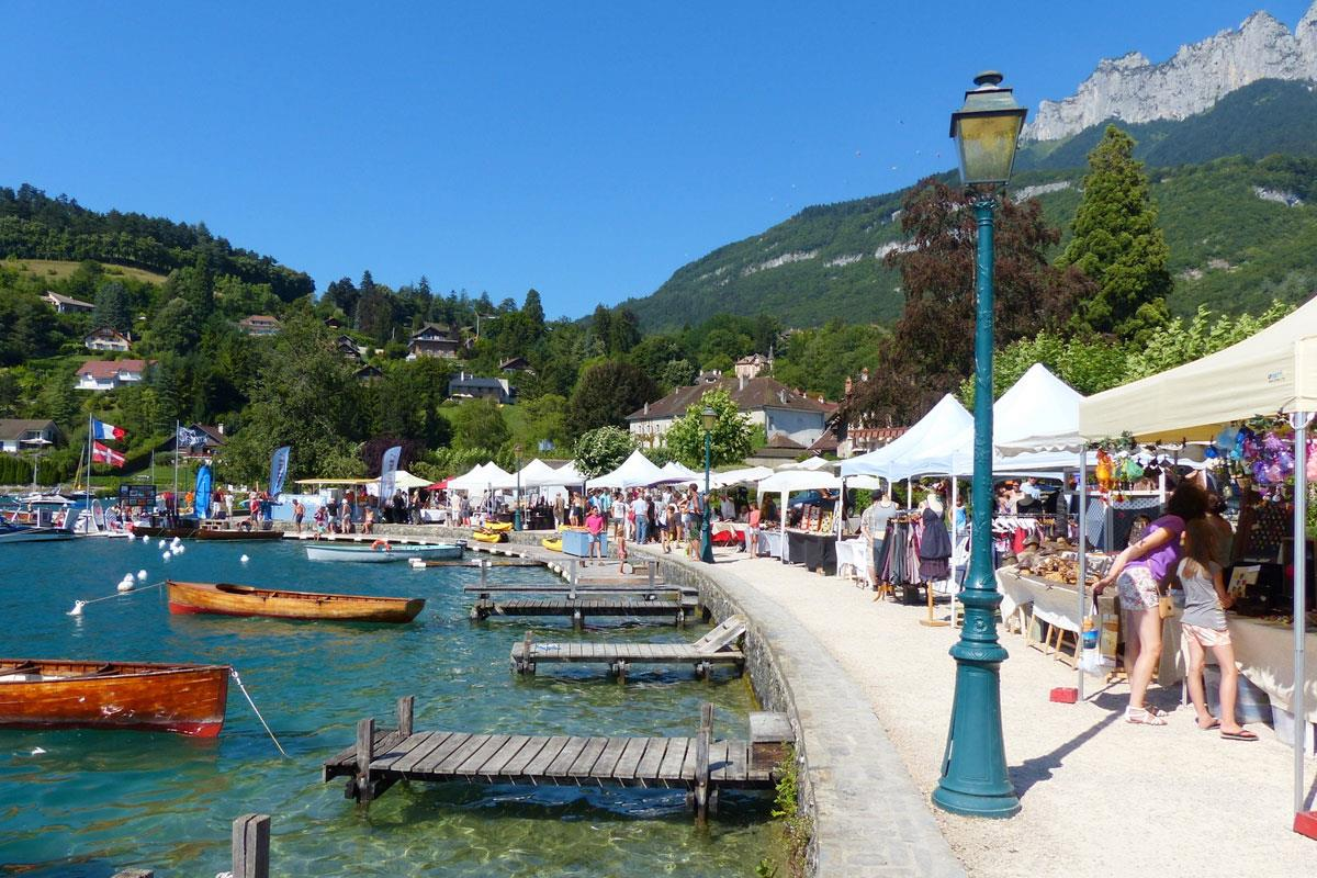 Lake Annecy (Talloires)