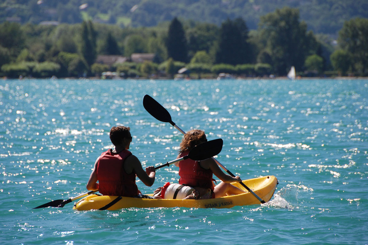 Lake Annecy Water Activities