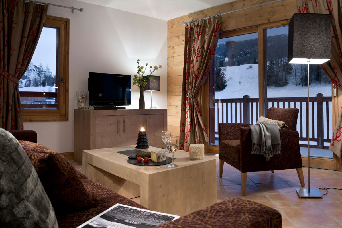 Les Chalets du Flambeau, Val Cenis (self catered apartments) - Apartments