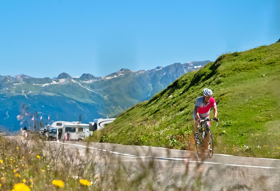 Road Cycling Holidays in the French Alps