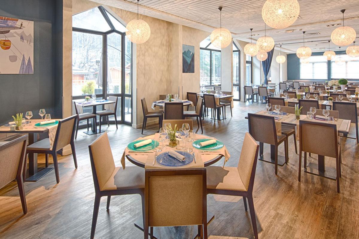 Hotel Les Aiglons Chamonix Restaurant