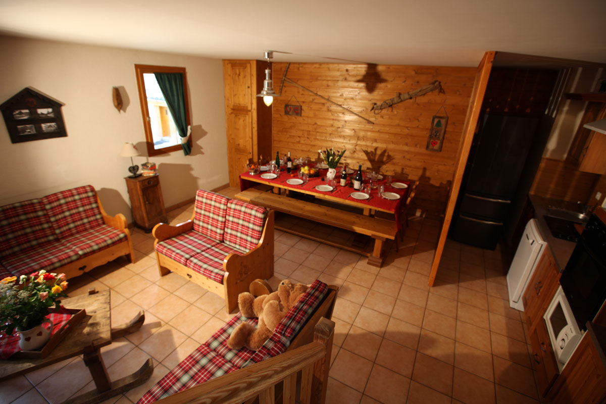 Chalet Le Planet (Valloire) Living Area