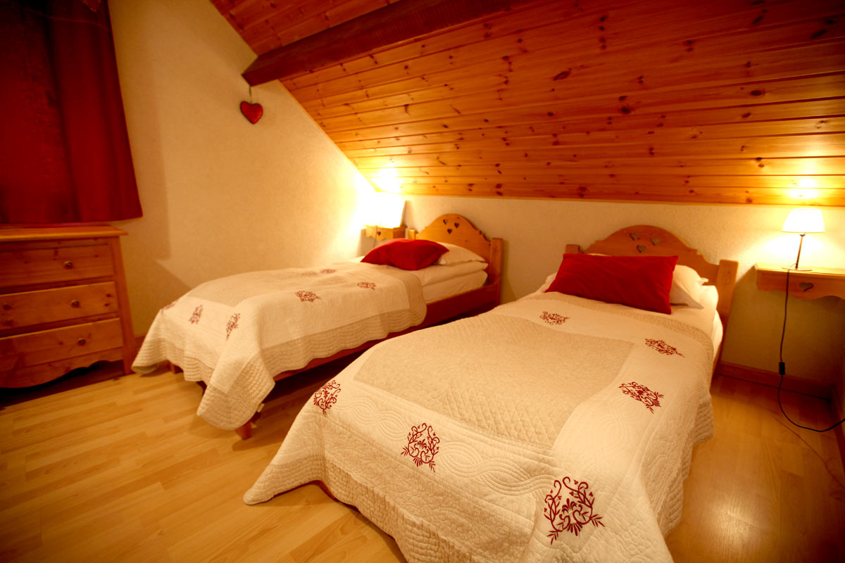 Le Plane 1 (Valloire) Twin Bedroom