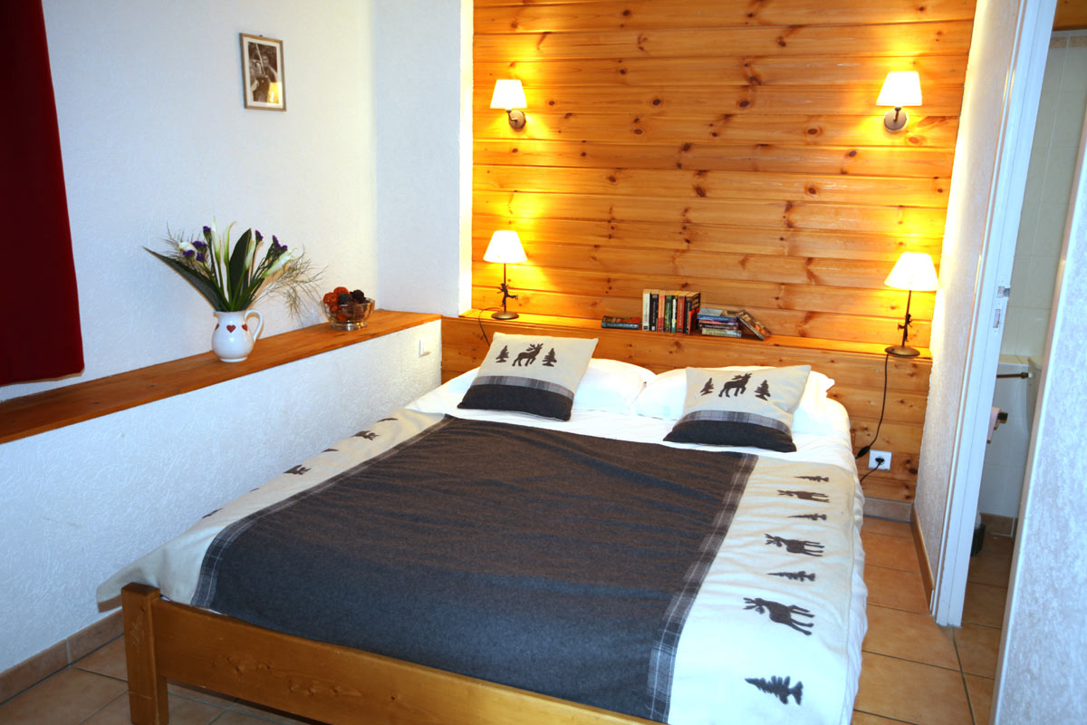 Le Plane 1 (Valloire) Bedroom