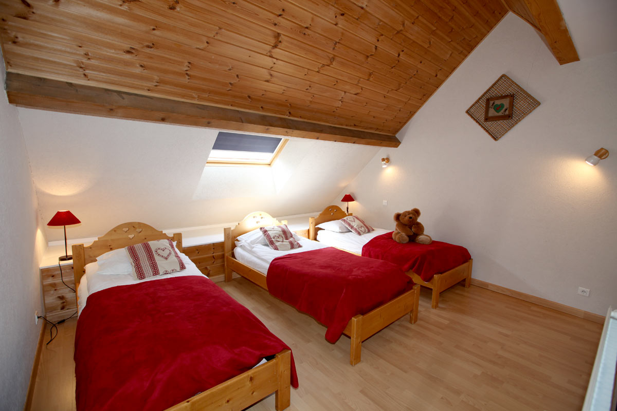 Le Plane 1 (Valloire) Triple Bedroom