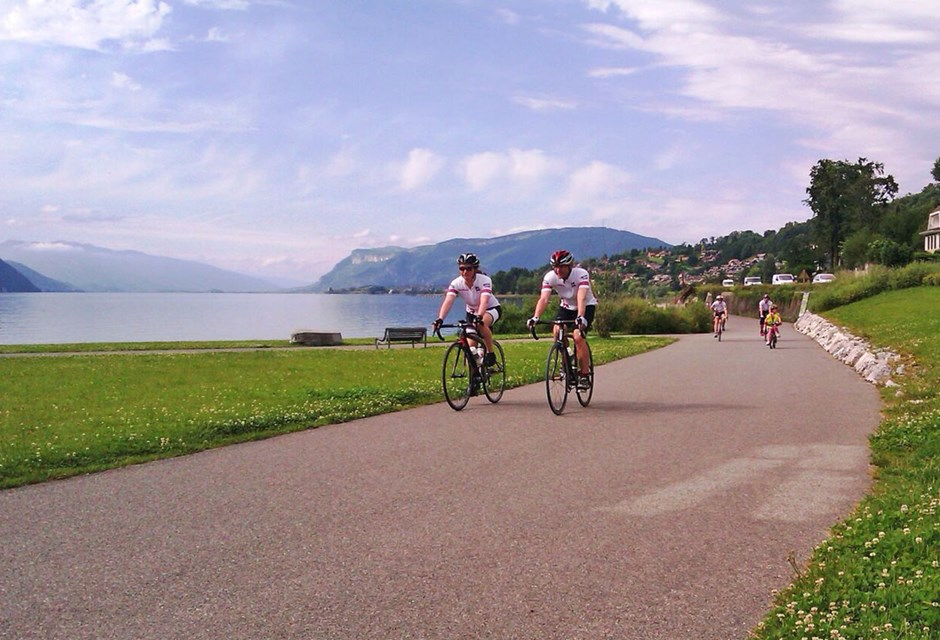 Lake Annecy Cycling