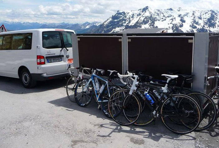 Supported Cycling in the French Alps