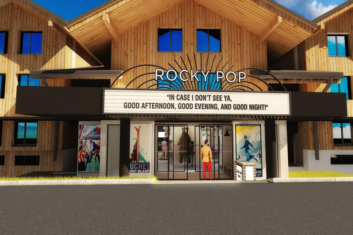 RockyPop (Chamonix) Artists Impression