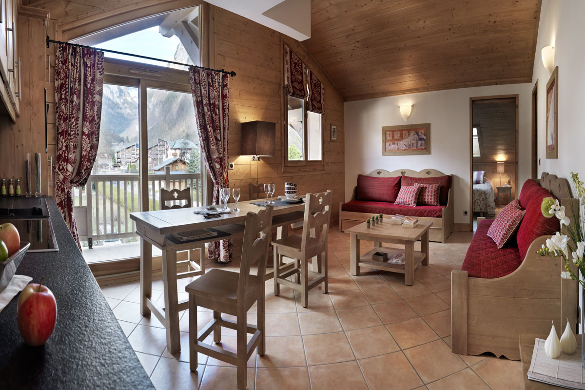 La Reine des Pres, Samoens (self catered apartments) - Apartment