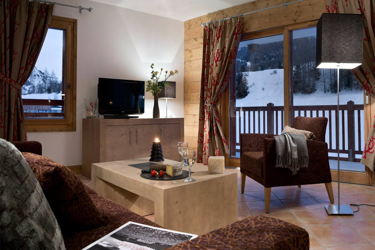 Les Chalets de Layssia, Samoens (self catered apartments) - Apartments