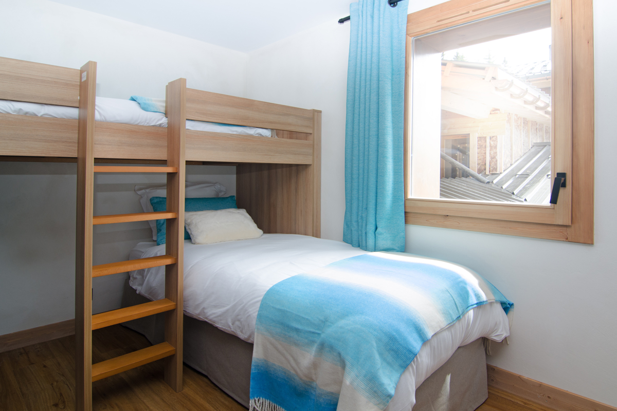 Les Armaillis, Les Saisies (self catered apartments) - Bunk room