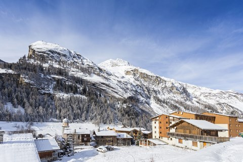 Club Hotel, Tignes les Brevieres (Espace Killy) - Building on right