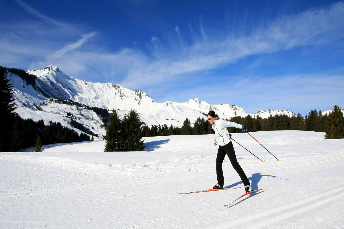 Praz de Lys - Cross Country Skiing