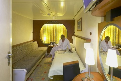 Outside 4 berth club cabin