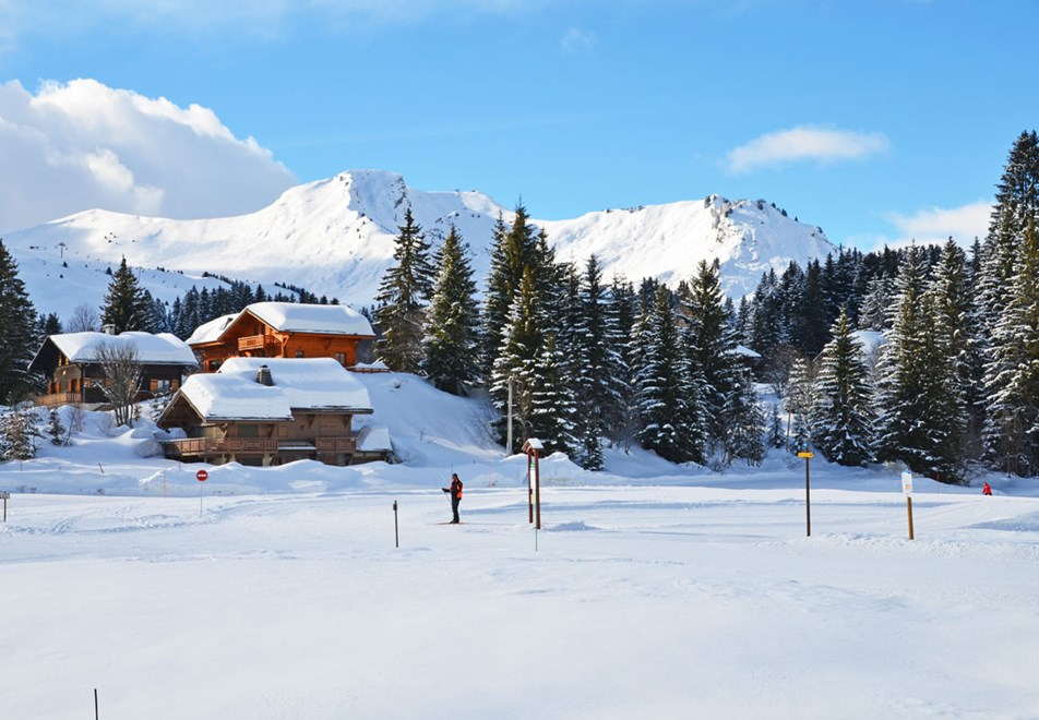 Praz de Lys - Within an hour from Geneva ©Christian Pourre
