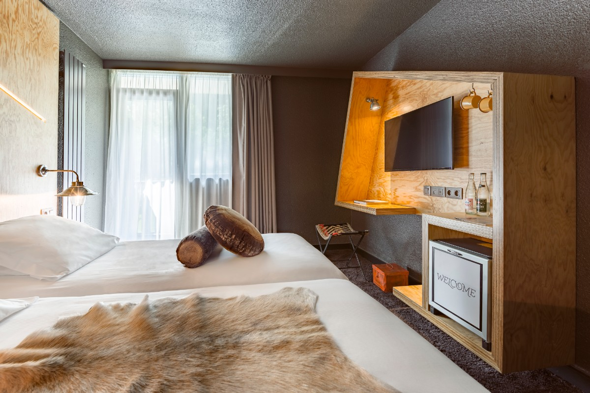 Refuge des Aiglons, Chamonix - Twin Bedroom