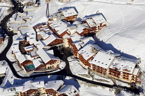 Club Med Peisey Vallandry Super Inclusive, Plan Peisey (Peisey Vallandry) - Ideal for families
