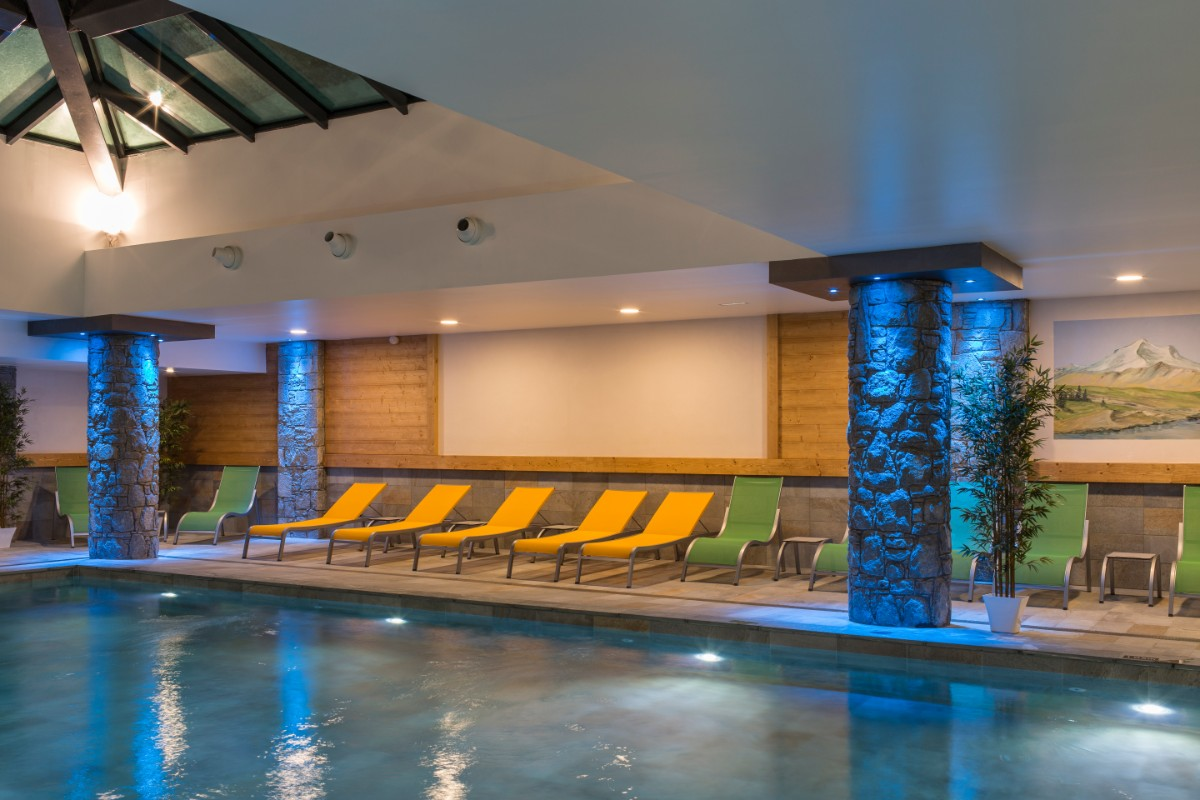 Le Napoleon, Montgenevre - Indoor Pool