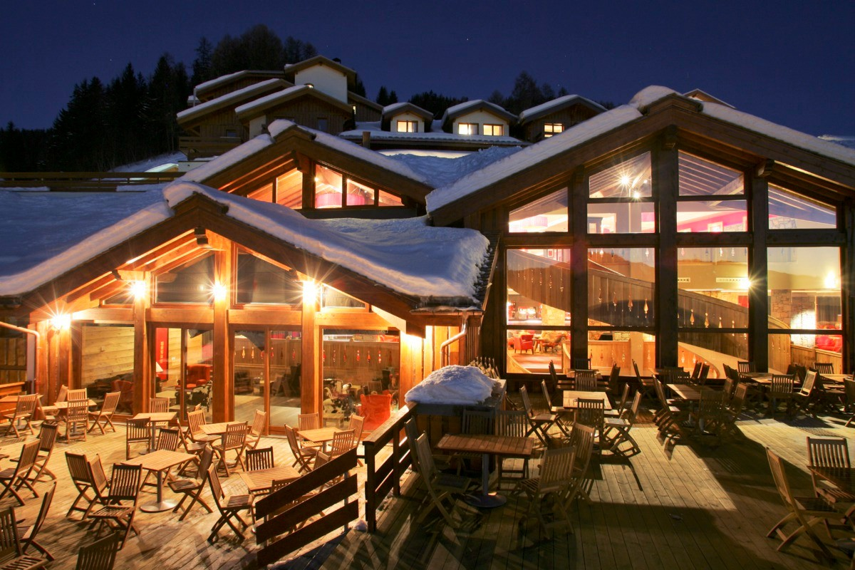 Club Med Peisey Vallandry All Inclusive, Plan Peisey (Paradiski) - Terrace
