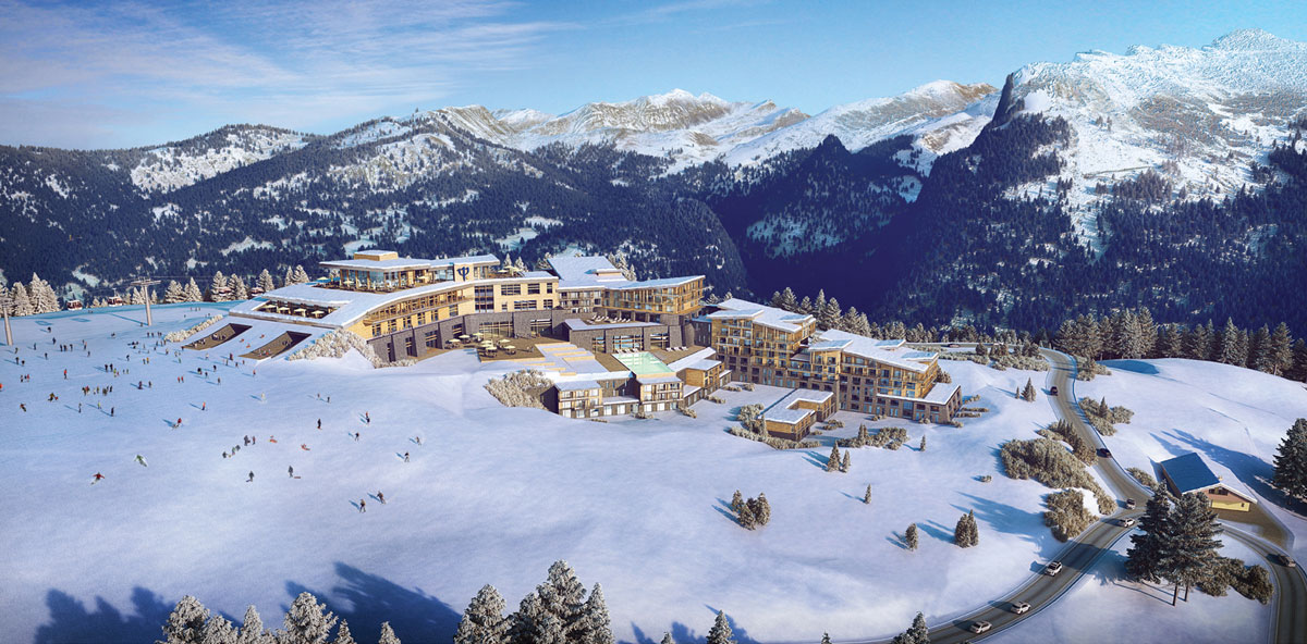 Club Med Grand Massif Samoens Morillon, Samoens 1600 - Artists Impressions