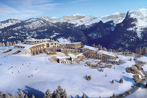 Club Med Samoens, Samoens - Artists Impressions