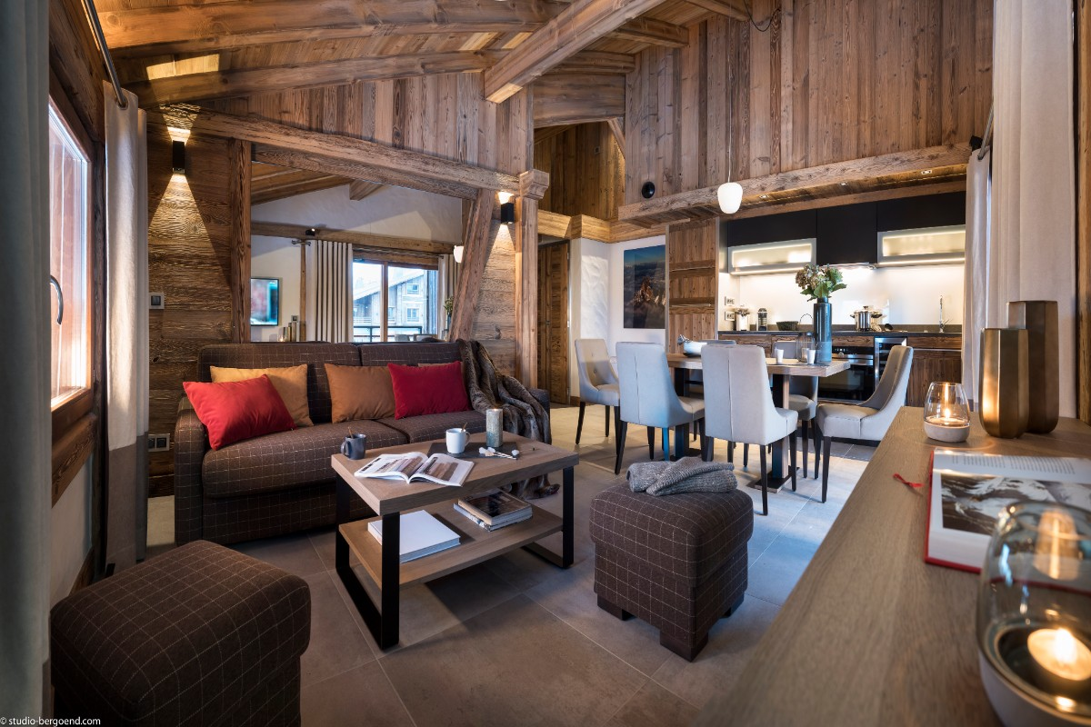Le Cristal de Jade, Chamonix (self catered apartments) - 3 bedroom apartment