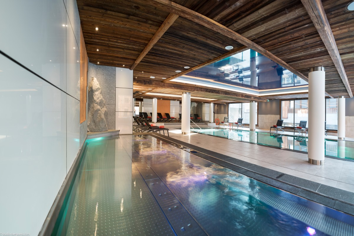 Le Cristal de Jade, Chamonix (self catered apartments) - Indoor Pool