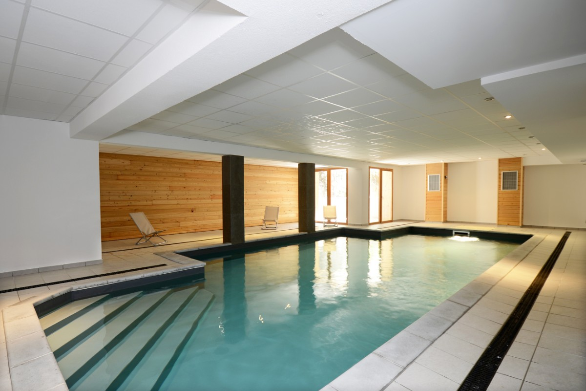Le Crystal Blanc, Vaujany (self catered apartments) - Indoor Pool