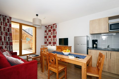 Le Crystal Blanc, Vaujany (self catered apartments) - Apartments