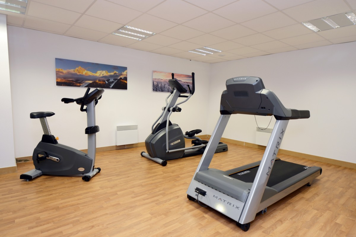 Le Crystal Blanc, Vaujany (self catered apartments) - Gym