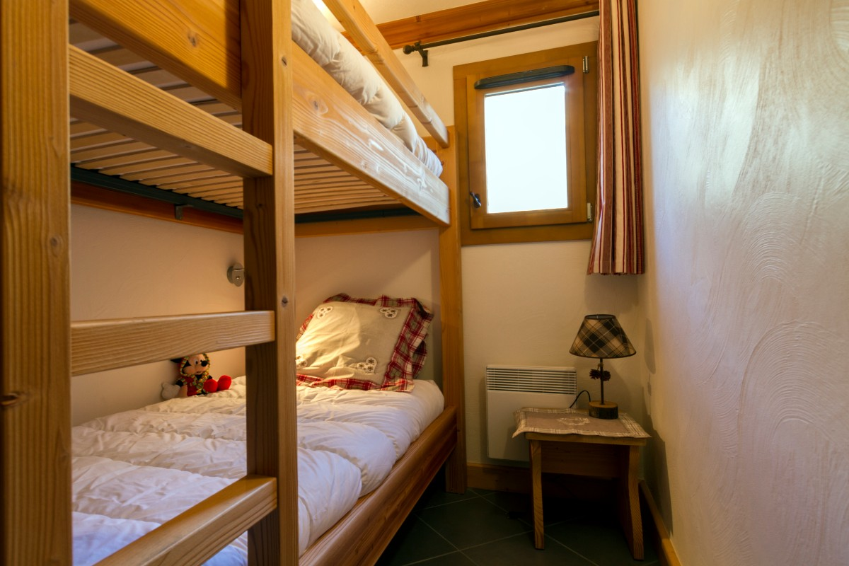 Le Criterium, Val Cenis (self catered apartments) - Bunk room