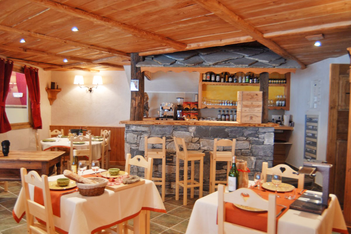 Clos Vanoise, Bessans (self catered apartments) - Restaurant