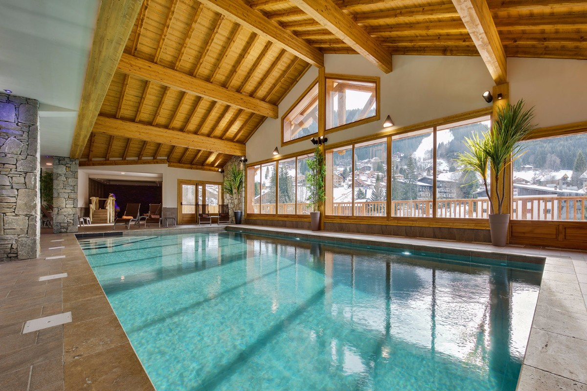 Leana, Les Carroz (self catered apartments) - Indoor Pool