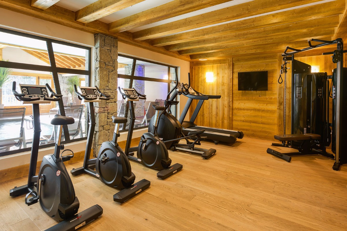 Les Chalets de Leana, Les Carroz (self catered apartments) - Gym