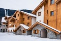 Les Chalets de Leana, Les Carroz (self catered apartments) - View towards lift
