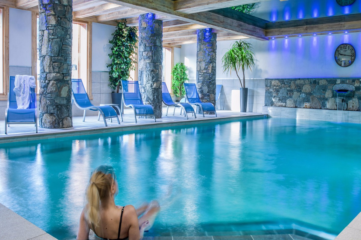 Les Chalets de Layssia, Samoens (self catered apartments) - Indoor Pool