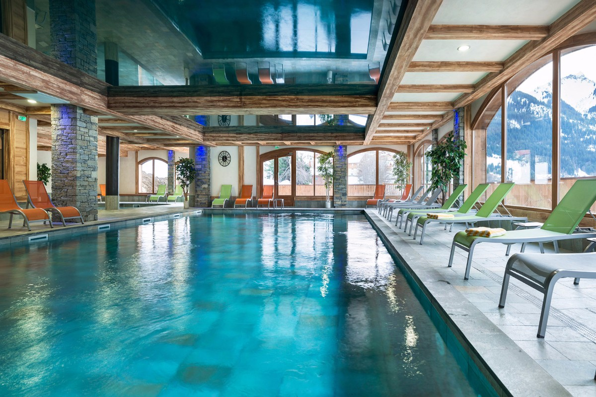 Les Chalets d'Angele, Chatel (self catered apartments) - Indoor Pool