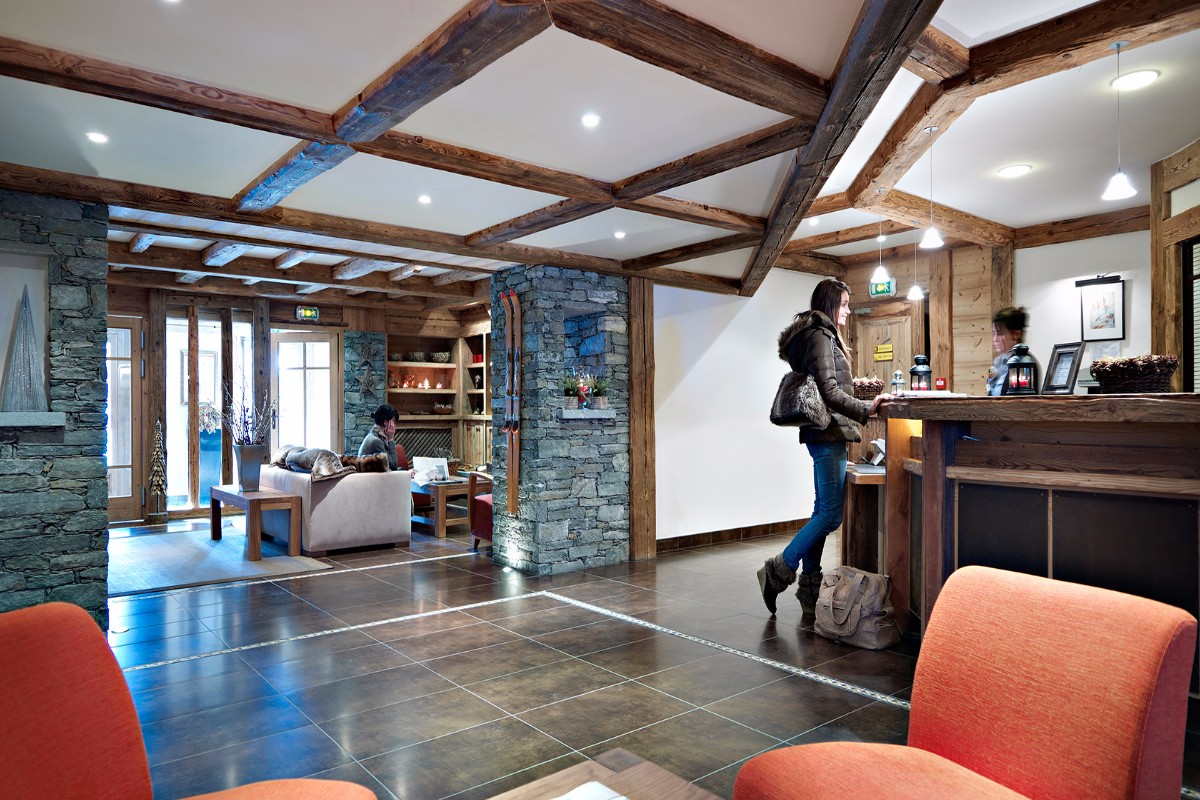 Le Ruitor, Sainte Foy (self catered apartments) - Reception