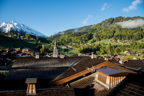Grandes Alpes, La Clusaz (self catered apartments) - Views