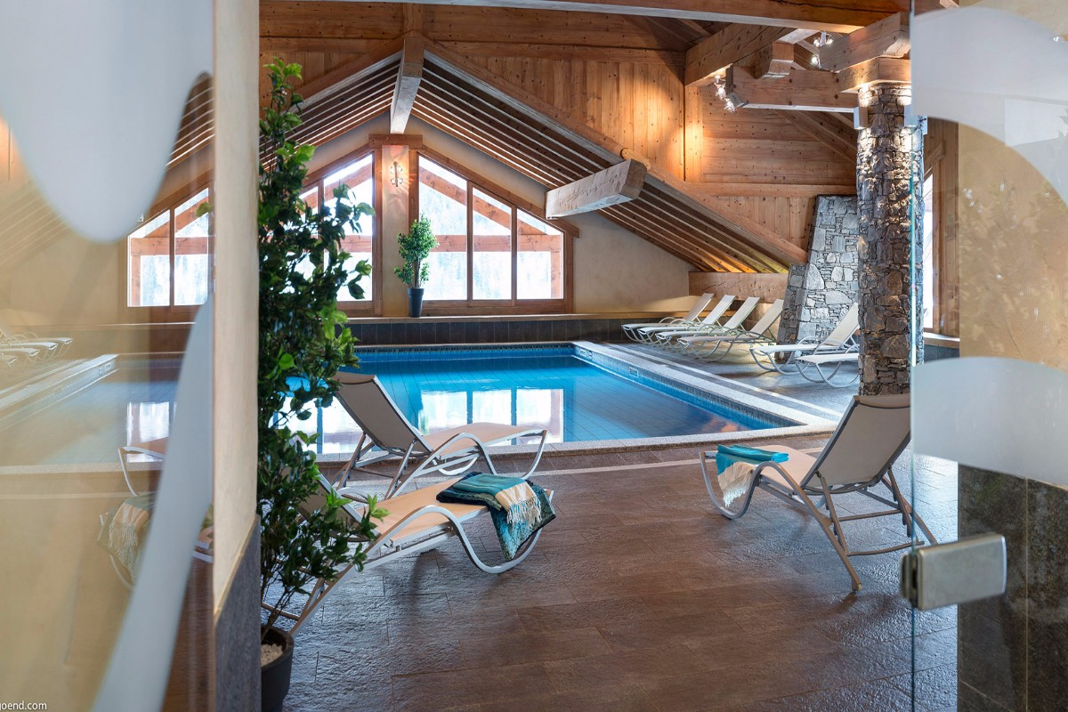 Les Alpages de Champagny, Champagny (self catered apartments) - Indoor Pool
