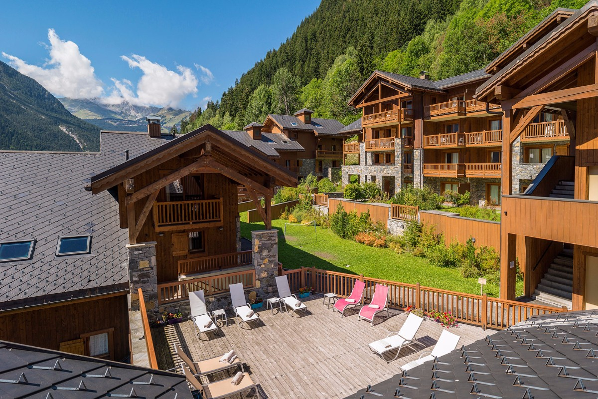 Les Alpages de Champagny, Champagny (self catered apartments) - Sun Terrace
