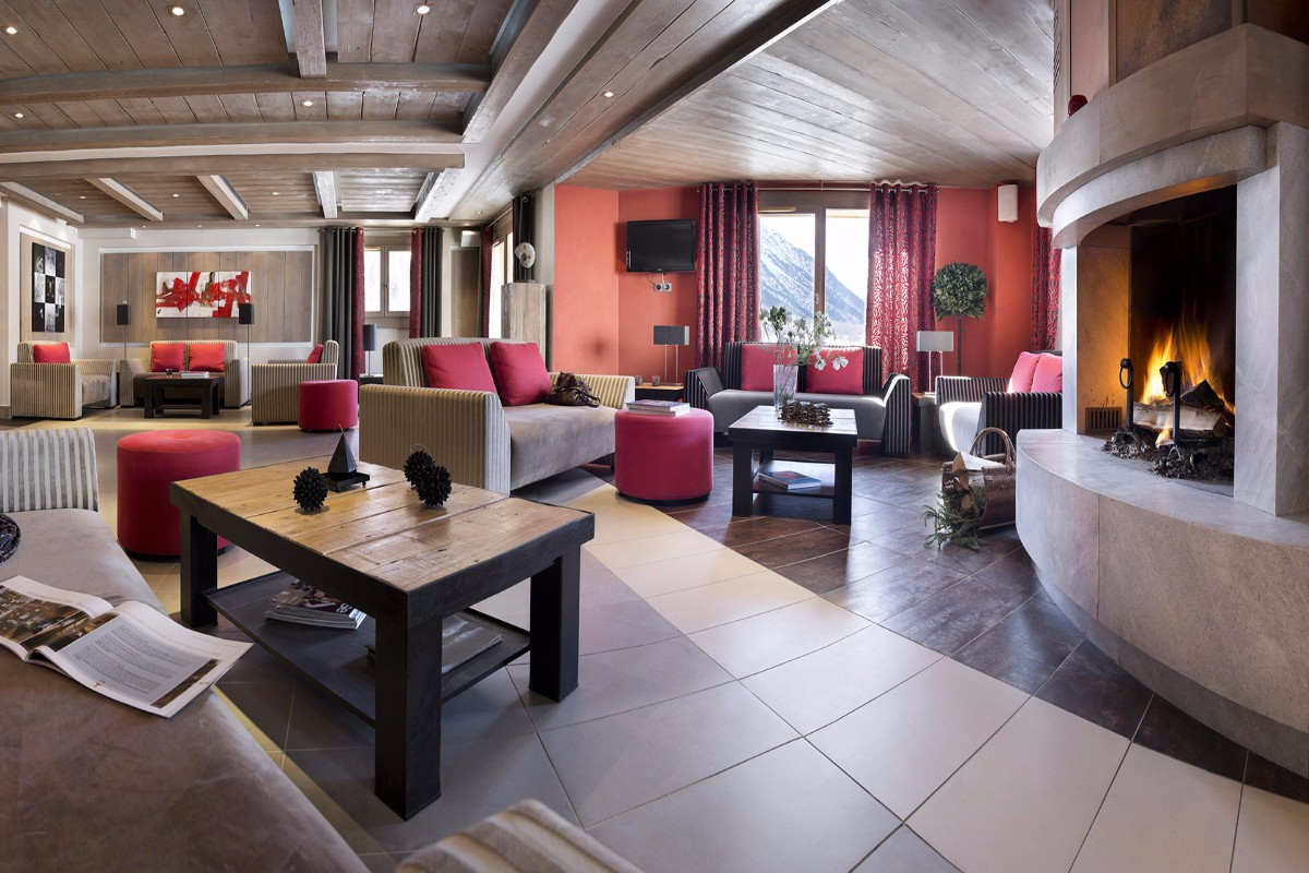 Chalet des Dolines, Montgenevre (self catered apartments) - Residence Lounge