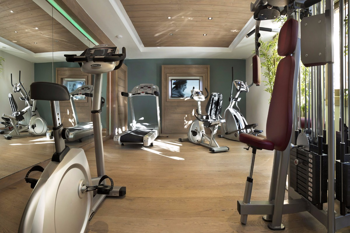 Chalet des Dolines, Montgenevre (self catered apartments) - Gym
